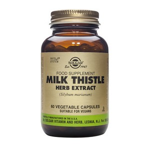 SOLGAR Milk thistle herb extract Γαϊδουράγκαθο 60vegetable capsules