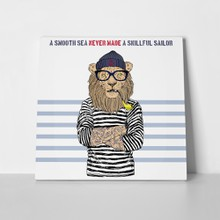 Hipster lion smoking pipe 251522623 a