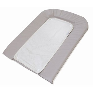 Changing Matress With Towel Gris-White 70*45
