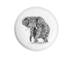 Maxwell & Williams Πιάτο Bone China African Elephant Marini Ferlazzo 20cm
