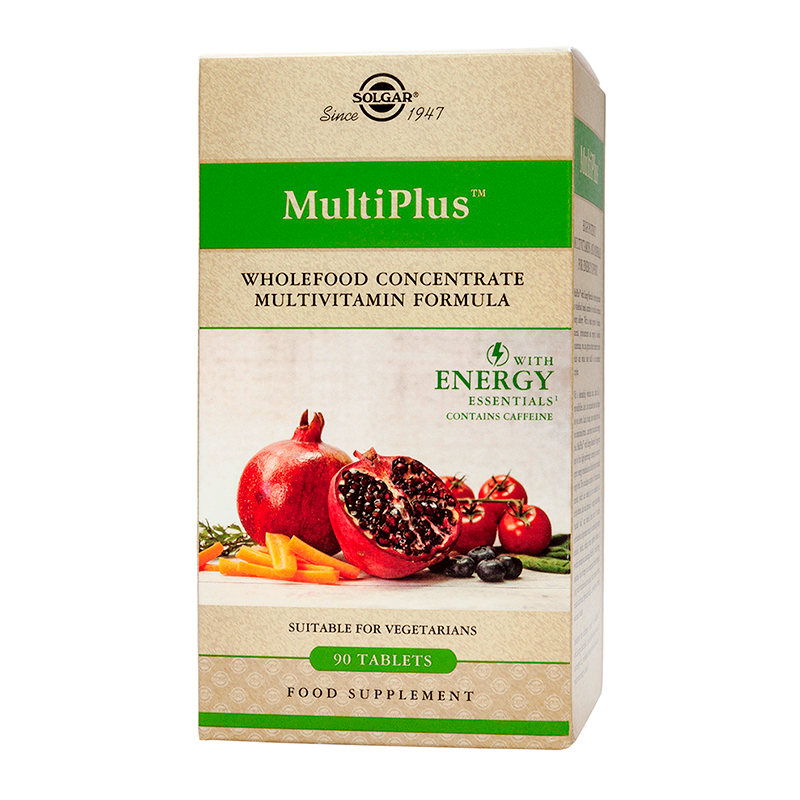 Multiplus with Energy essentials tablets