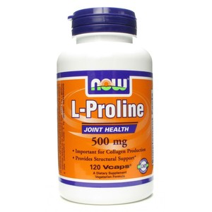 Now foods l proline 500 mg