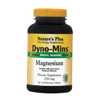 NATURES PLUS DYNO-MINS MAGNESIUM 250MG 90TABL