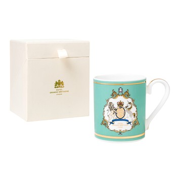GB Emblem Mug with Gold Details