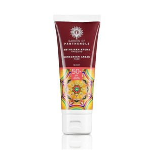 Sunscreen face cream spf 50