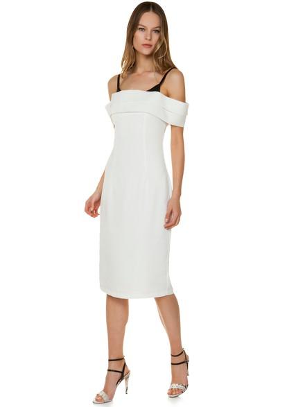 81755c53a03a Off shoulder εφαρμοστό φόρεμα
