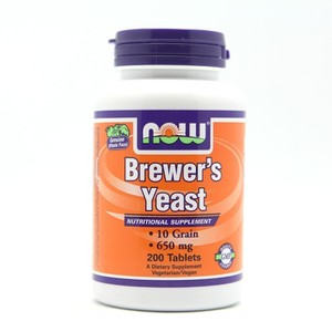Now foods brewer s yeast 200 tabs