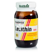 Health Aid LECITHIN 1200mg, 50 caps