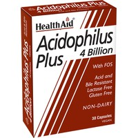 HEALTH AID ACIDOPHILUS PLUS 30VEG. CAPS