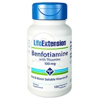 LIFE EXTENSION - BENFOTIAMINE with Thiamine 100mg - 120caps