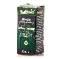HEALTH AID - AROMATHERAPY Pure Essential Oil Ginger - 10ml