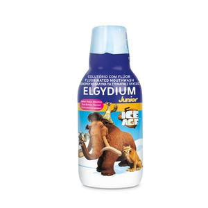 Elgydium junior ice age mouthwash
