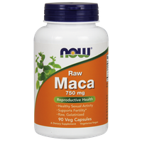 NOW MACA 750 MG (6:1 CONC) 90 VCAPS