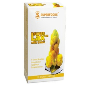Superfoods food supplement super lax with senna 30caps