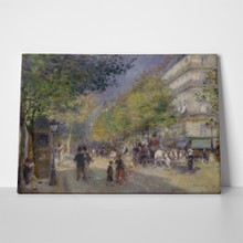 Pierre auguste renoir the grands boulevards3