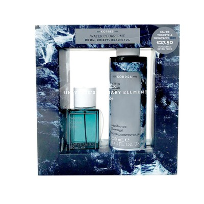 Korres - The Water Collection For Him Eau de Toilette - 50ml & Shower Gel - 250ml