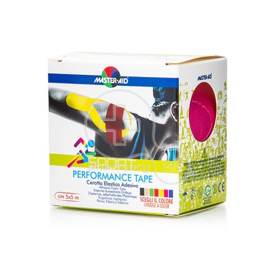 MASTER AID - SPORT Performance Tape 5mX5cm Ρόζ