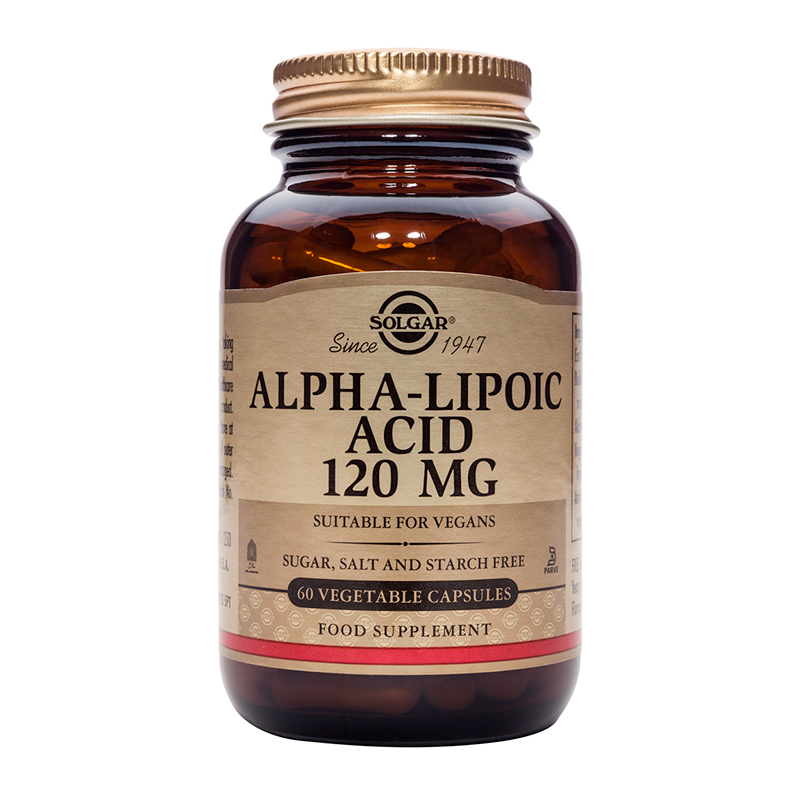 Alpha Lipoic Acid 120mg veg.caps