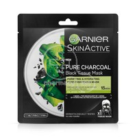 GARNIER - SKIN ACTIVE Pure Charcoal Black Tissue Mask - 1τεμ.
