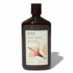 Mineral botanic cream wash   hibiscus   fig