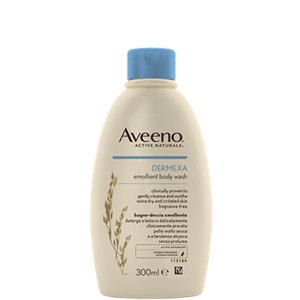 Aveeno dermexa shower emollient 300ml
