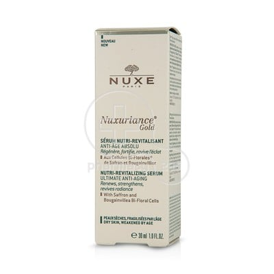 NUXE - NUXURIANCE GOLD Serum Nutri Revitalisant - 30ml