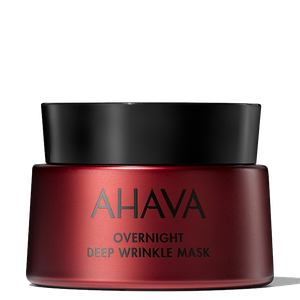 Ahava overnight deep wrinkle mask