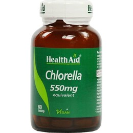 HEALTH AID - Chlorella 550mg - 60tabs