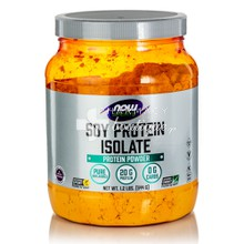 Now Sports Soy Protein Isolate (Non-GMO) - Natural Unflavored, 544gr