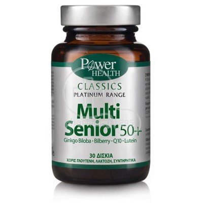 POWER HEALTH - CLASSICS PLATINUM RANGE Multi Senior 50+ - 30tabs