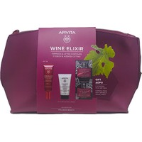 Apivita Set Wine Elixir Lift Day Cream SPF30 40ml & Δώρο Cleansing Milk 3in1 50ml & Express Beauty Face Mask Grape 2x8ml