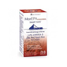 Minami MorEpa Cholesterol (90% Supercritical Omega-3 Fish Oil), 30 softgels