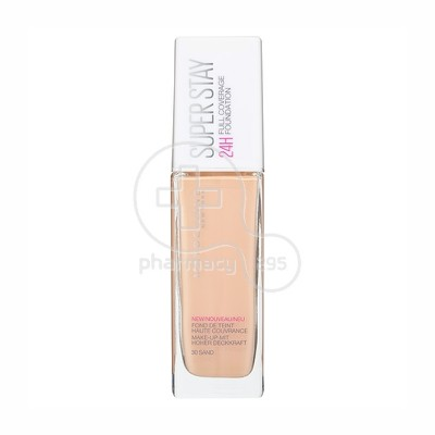 MAYBELLINE - SUPERSTAY Full Coverage Foundation No30 (Sable) - 30ml