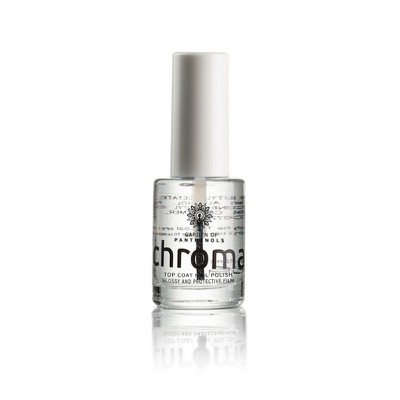 Garden Of Panthenols - Chroma Top Coat Nail Therapy - 12ml