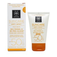 Apivita Suncare Anti-Spot Spf50 Tinted Face Cream 50ml