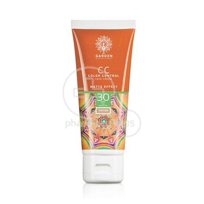 GARDEN - CC Color Control Face Cream Matte Effect SPF30 - 50ml