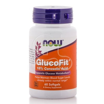 NOW - GlucoFit - 60softgels