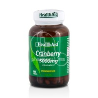 HEALTH AID - Cranberry 5000mg - 60tabs
