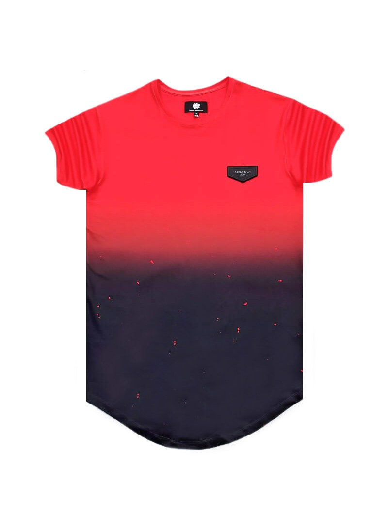 Gianni Kavanagh Red Dark Splat Tee