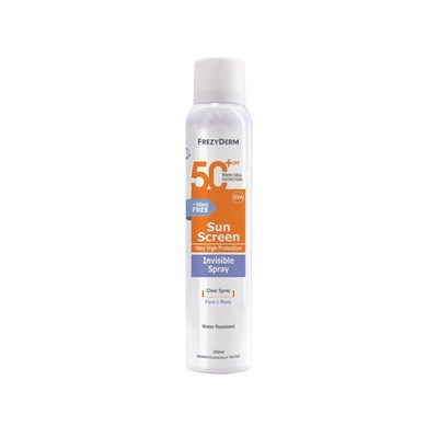 Frezyderm - Sun Screen Invisible Spray SPF50 - 200ml
