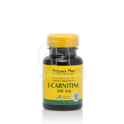 NATURE'S PLUS - L-Carnitine 300mg - 30caps
