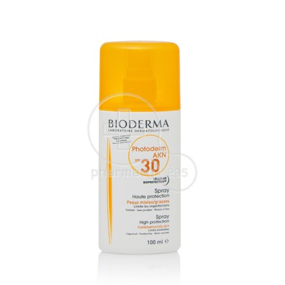 BIODERMA - PHOTODERM AKN Spray SPF30 - 100ml / Oily/Acne prone skin