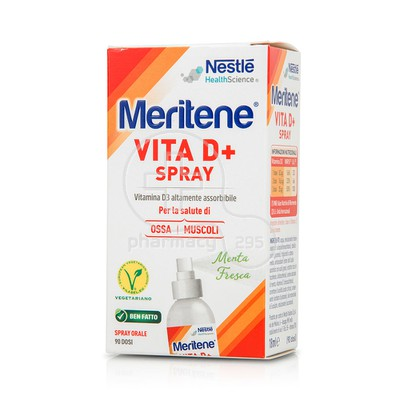 NESTLE - HEALTH SCIENCE MERITENE Vita D+ Spray - 18ml