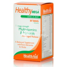 Health Aid HEALTHY MEGA Multivitamins - Πολυβιταμίνη 30tabs