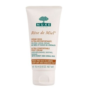 Nuxe reve de miel foot cream