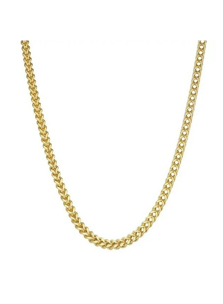 MILLIONALS SQUARE STAINLESS STEEL CHAIN GOLD