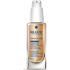 Rilastil corrective foundation liftrepair modulable coverage spf15 20 natural 30ml