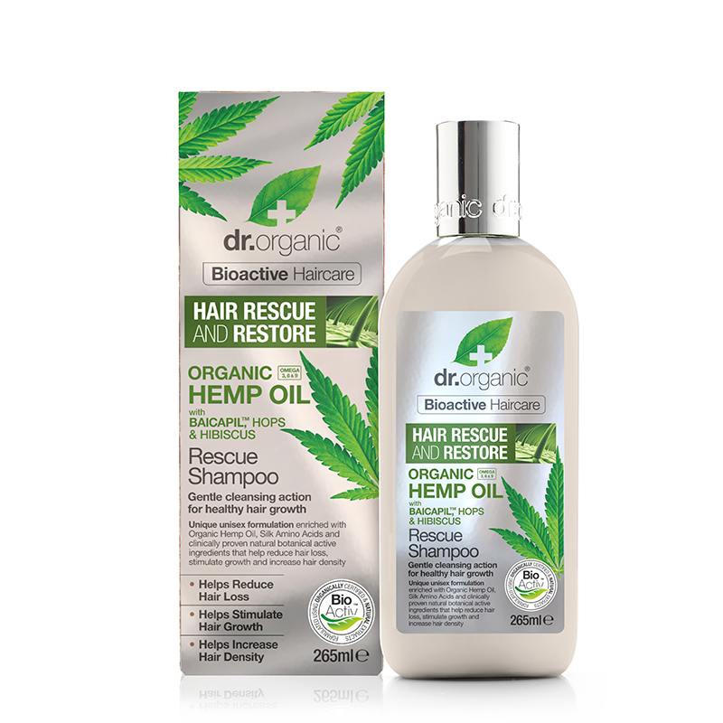 Organic Hemp Oil Rescue Shampoo