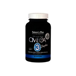 Nature's Plus Omega-3 complete 60 softgels