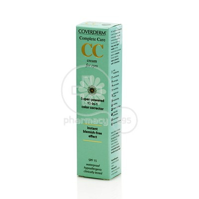 COVERDERM - COMPLETE CARE CC Cream for Eyes (Light Beige) - 15ml